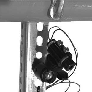 Barrel Stake Finder:  Indoor/Outdoor, Green Dot, Portable, Waterproof