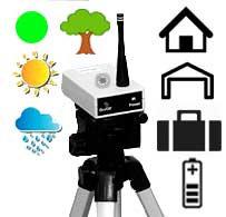 Outdoor/Indoor Green Dot Timer Marking System-Battery, Waterproof