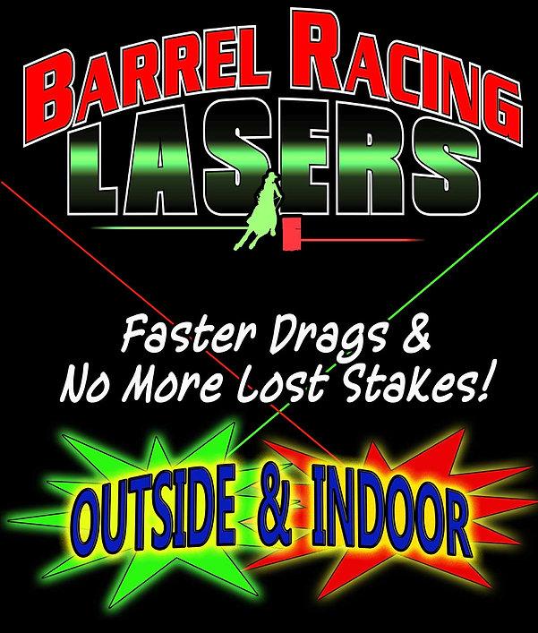 Barrel Racing Lasers