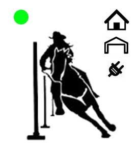 Sizzling Green Dot Pole Bending System-Indoor