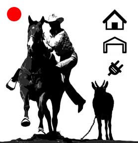 Red Dot Goat Stake Marking System-Indoor