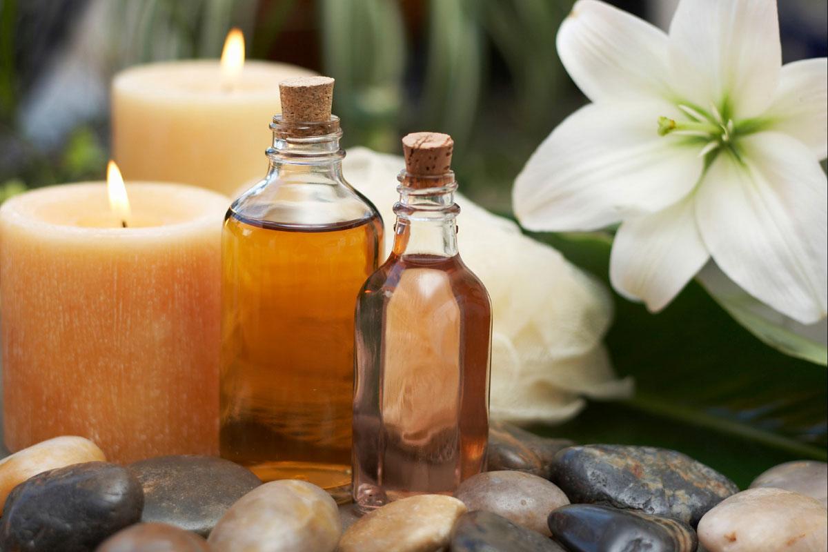 aromaterapia, masaje terapéutico