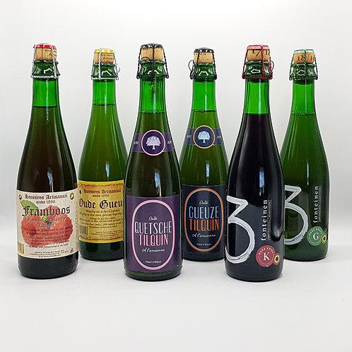 Bier Pakket Geuze - Fruit Lambiek | Beer Box Gueze - Fruit Lambic