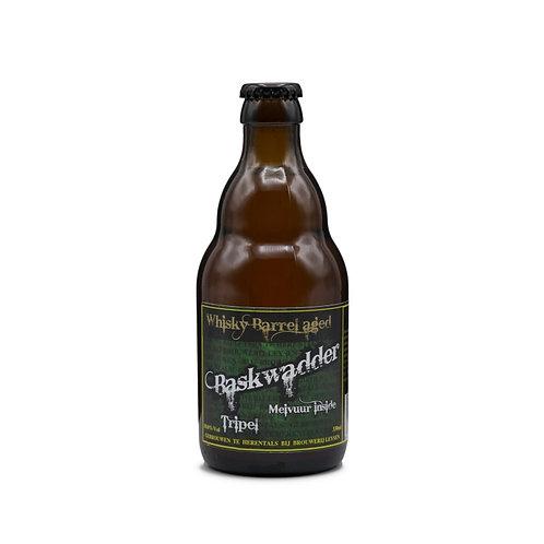 Baskwadder Tripel Whisky Barrel Aged Brouwerij Leysen
