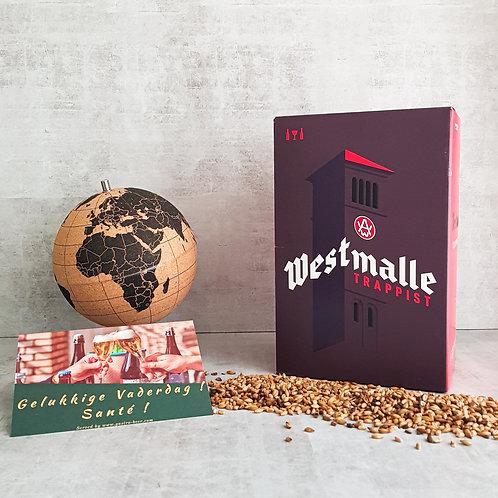 Vaderdag Westmalle Trappist Box + Glas