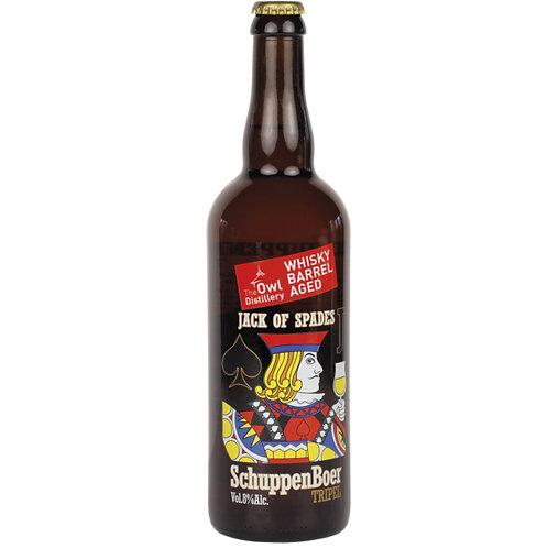 Schuppenboer Whisky Barrel Aged (Belgian Owl Whisky)