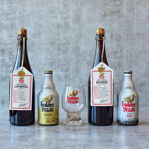 Gulden Draak  Speciaal Bier  Pakket + Glas