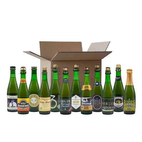 Belgische Geuze Bier Pakket   12 x 37.5cl