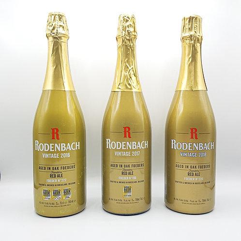 Rodenbach Vintage 2016 - 2017 - 2018  Vlaams Roodbruin Bier