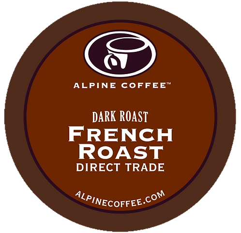 French Roast (K-Cup, 12 oz., 1 lbs., 2 lbs., or 5 lbs.)
