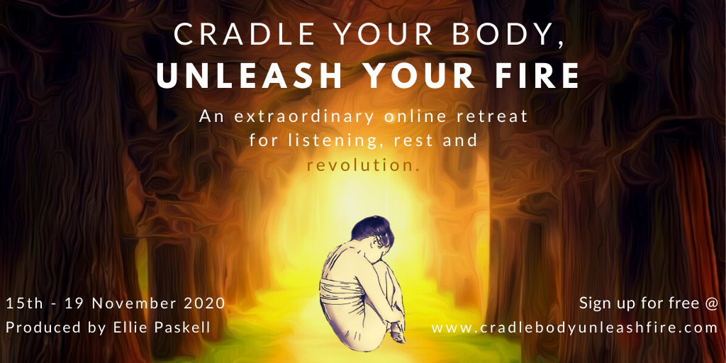 Golden Cradle Your Body, Unleash Your Fire Email