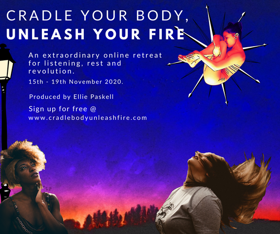 Magical Cradle Your Body, Unleash Your Fire Facebook