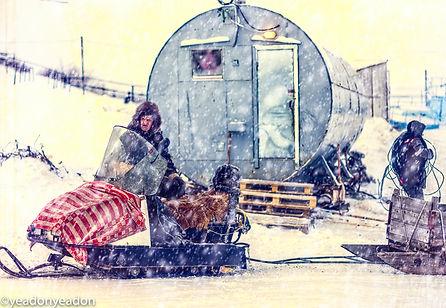 Frozen OB Highway - Security Arctic Hut
