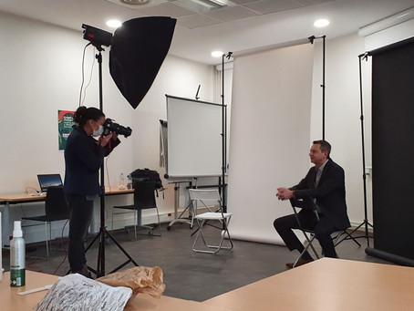 Shooting photo pour les membres du groupe jeudi 03/12/2020
