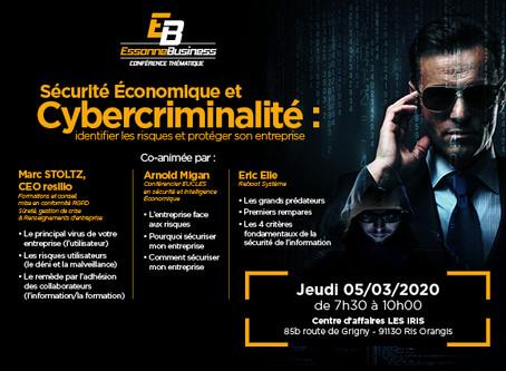 Sécurité économique et Cybercriminalité : identifier les risques et protéger son entreprise