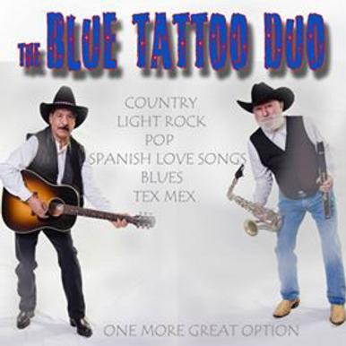 Blue Tattoo Duo