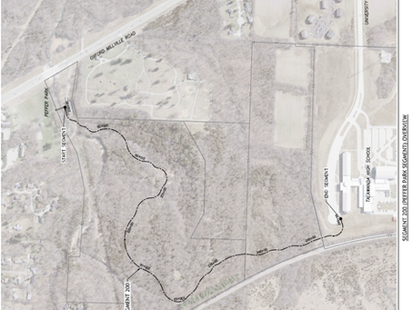 Public Comment Welcome for Phase 3: Peffer Park to Talawanda High School
