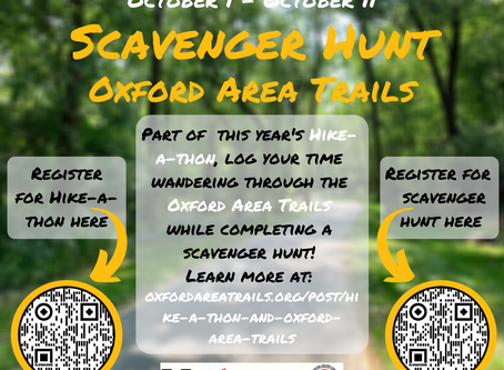 Hike-a-thon and Oxford Area Trails