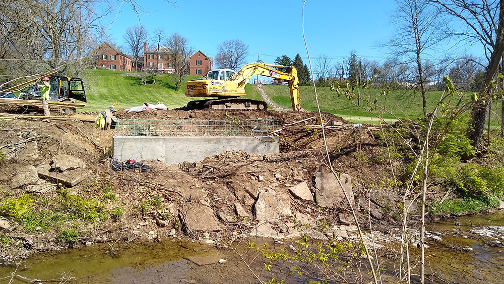 Construction on Oxford Area Trail System