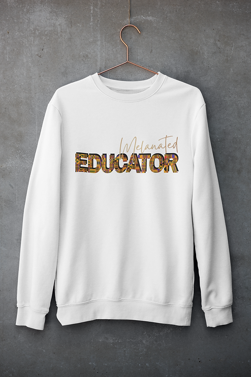 """BLACKnOUT Muse Collection - """"EDUCATOR"""" Edition Crewneck Sweater"""