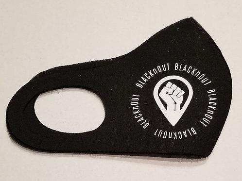 BLACKnOUT Blacknout Face Masks -Single