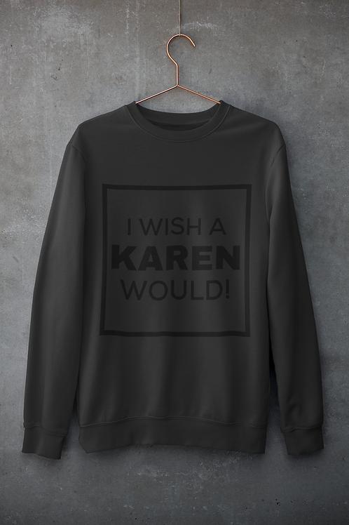 """BLACKnOUT """"Karen"""" Crewneck Sweater"""