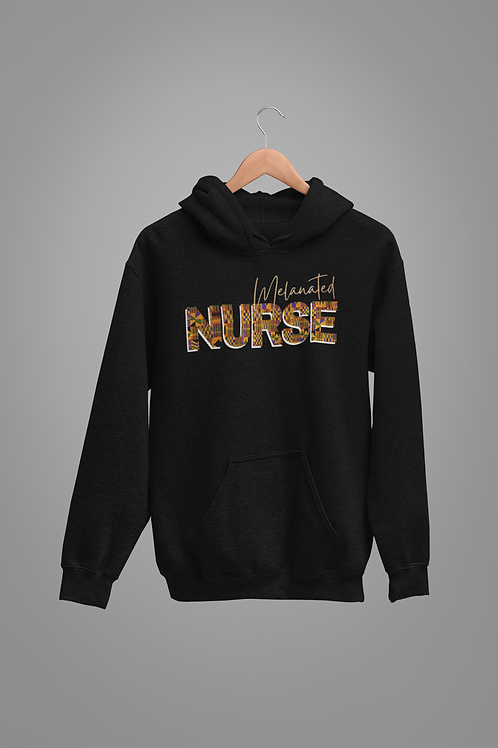"""BLACKnOUT MUSE COLLECTION """"NURSE"""" Edition Hoodie"""