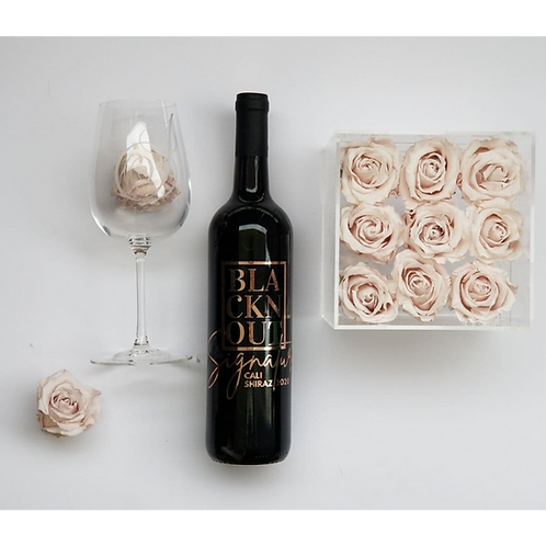 BLACKnOUT Mothers Day 9 Rose Gift Box