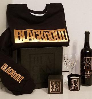 BLACKnOUT WINE & APPAREL GIFT BOX
