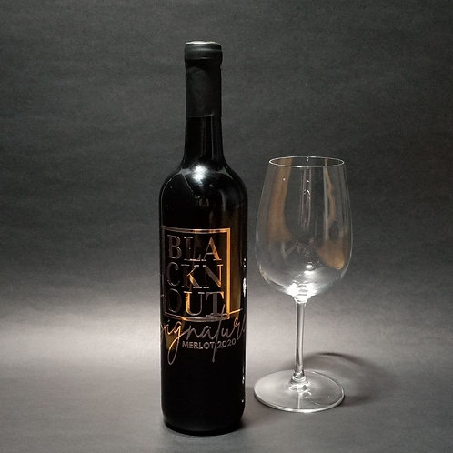BLACKnOUT Signature WINE