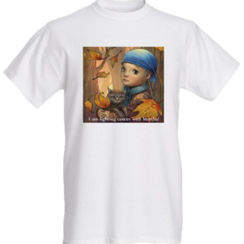 Fighting Cancer With Martha T-Shirt (kids)