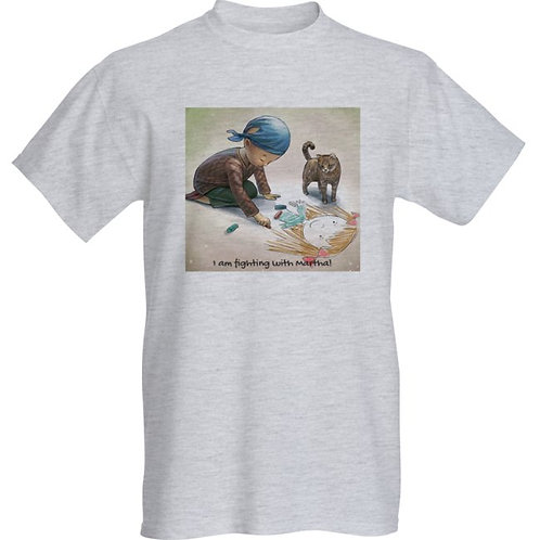 """""""Fighting With Martha"""" men's t-shirt"""