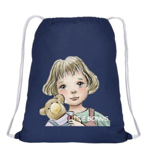 """""""Little Bonnie"""" draw string back-pack"""