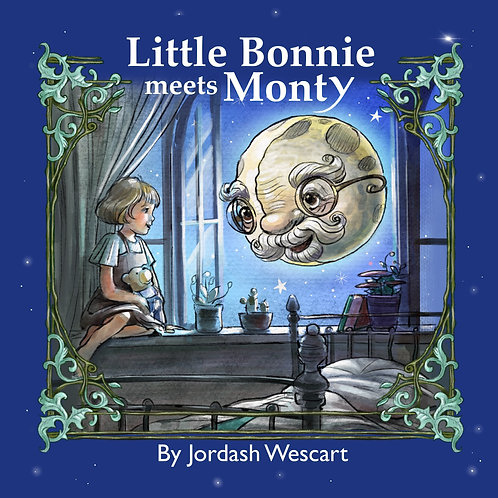 """Little Bonnie Meets Monty"" soft cover"