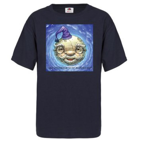 """""""To The Moon""""  kid's t-shirt"""