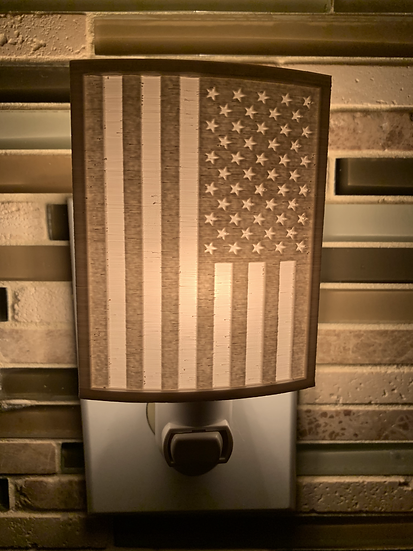 American Flag Nightlight