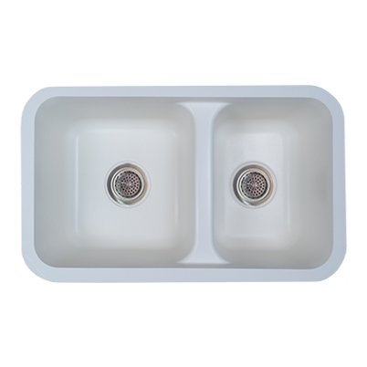 1324-D Double Bowl Kitchen Sink