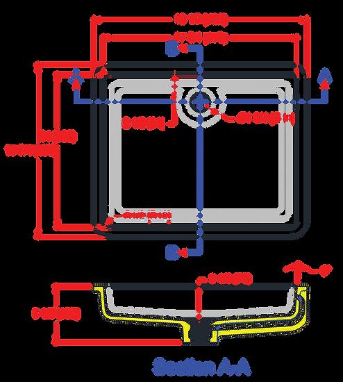 1814-EVO Lavatory Bowl