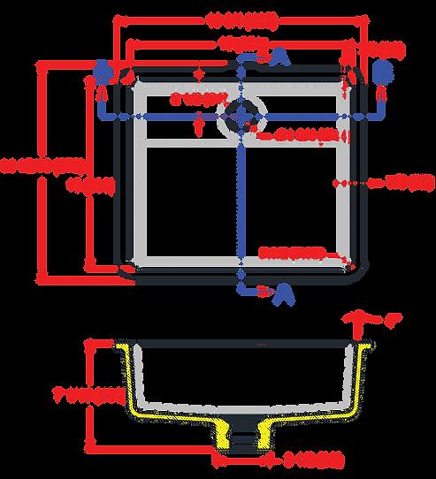 1513-V ADA Lavatory Bowl