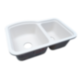 1523-D Double Bowl Sink