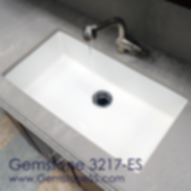 Gemstone 3217, sinks, single bowl, solid surface
