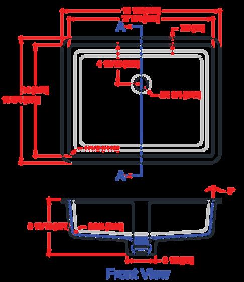 1814-VLavatory Bowl