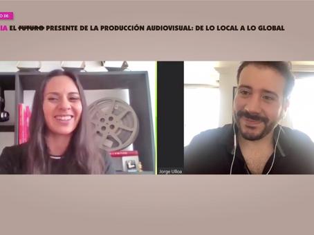 CONFERENCIA: EL PRESENTE DE LA PRODUCCIÓN AUDIOVISUAL: DE LO LOCAL A LO GLOBAL