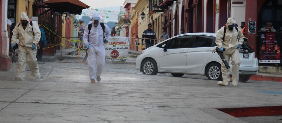 San Cristóbal de Las Casas y la pandemia