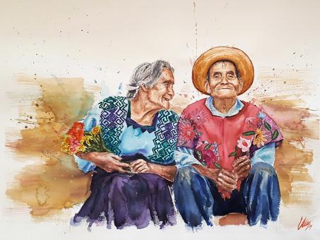 Exposición: Colección Acuarelas, San Cristóbal de Las Casas