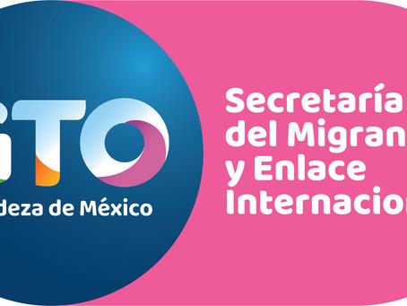 El MVCH y la Secretaría del Migrante y Enlace Internacional de Guanajuato