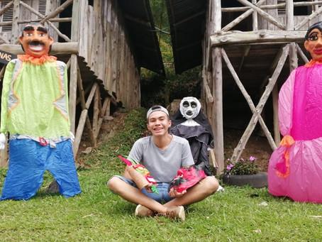 El mascarero más joven de Cartago, Costa Rica