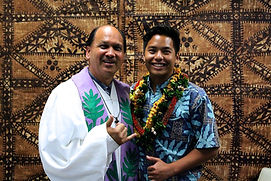 Pastor's Blessing in Hawaii for a Top Chiropractor
