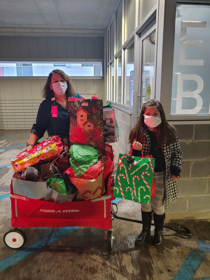 Second grader's service project spreads warmth