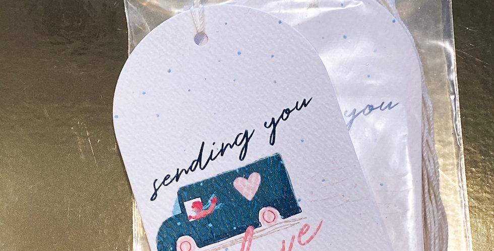 Sending You Love Tag Set